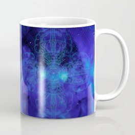 Tibet. Blue Meditation Coffee Mug