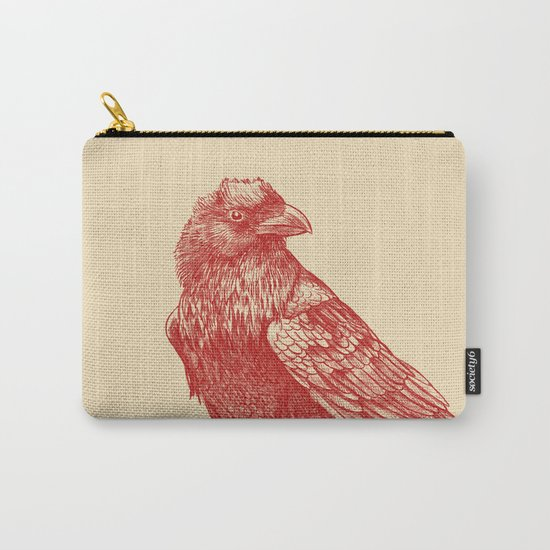 Red Raven  Carry-All Pouch