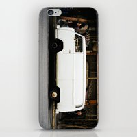 ghost in the shell iPhone & iPod Skins featuring Ghost-shell by kozmik