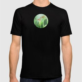 Birds and Leaves T-shirt