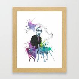 Bill Evans Framed Art Print