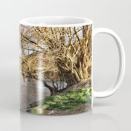 Winter am Fluss Coffee Mug