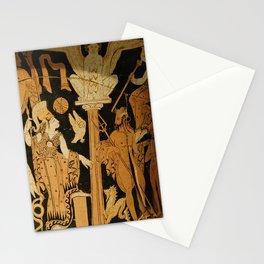 Athena and Poseidon Stationery Cards
