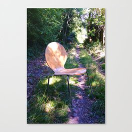 take a seat Canvas Print