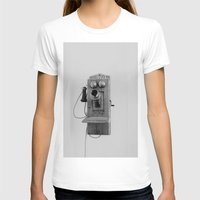 telephone T-shirts featuring Vintage Telephone by KimberosePhotography