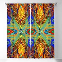Fiesta Firegrass by Chris Sparks Blackout Curtain