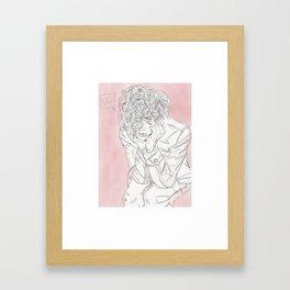 UGH! Framed Art Print