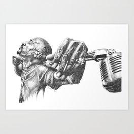 Rakim Art Print