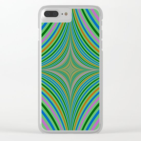 Falling into Infinity Clear iPhone Case