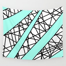 Lazer Dance T Wall Tapestry