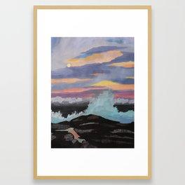 Puna Sunset Framed Art Print