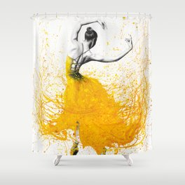 Daisy Dance Shower Curtain
