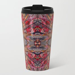 Tara leaves geometry III Travel Mug