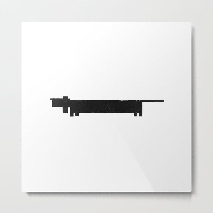 Lump Metal Print