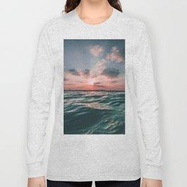Deep Green Float Long Sleeve T-shirt