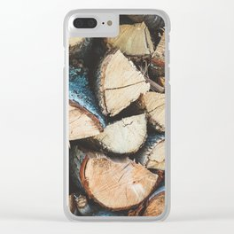 Wood / Photography Print / Photography / Color Photography Clear iPhone Case