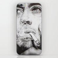 robert downey jr iPhone & iPod Skins featuring Robert Downey Jr. by KlarEm
