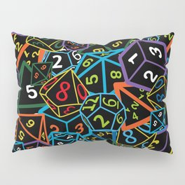 D&D (Dungeons and Dragons) - This is how I roll! Pillow Sham