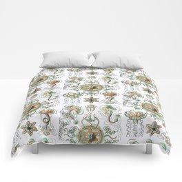 Ernst Haeckel - Trachomedusae (Jellyfish) Comforters