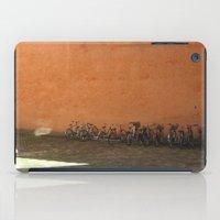bikes iPad Cases featuring bikes by Bg portretti