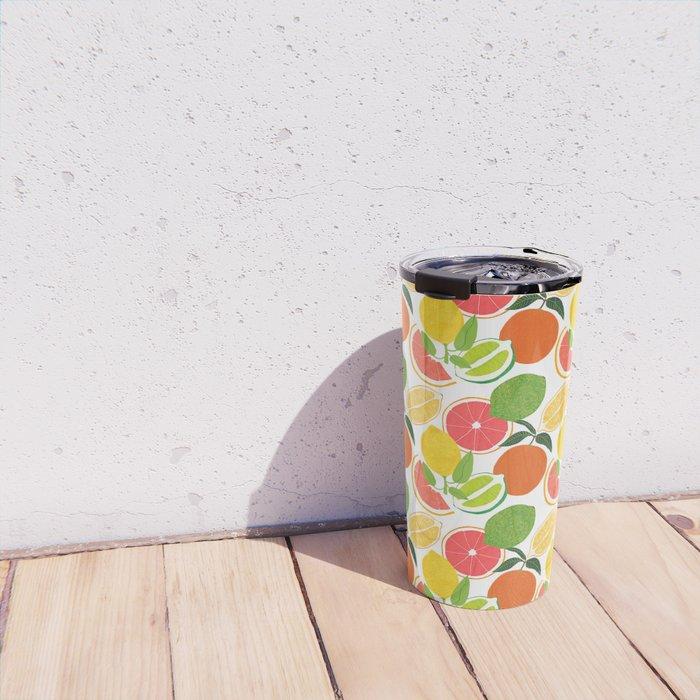 Citrus Harvest Travel Mug