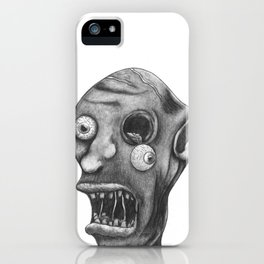 Gruesome Zombie iPhone Case