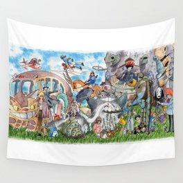 Studio Ghibli Wall Tapestry