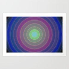 Circles design 01 Art Print
