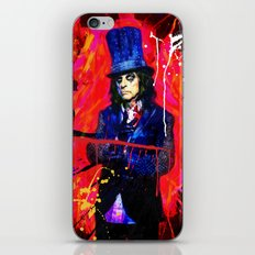 Alice Cooper iPhone & iPod Skin