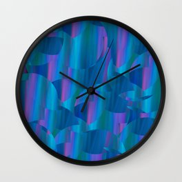 Fun With Lights Wall Clock