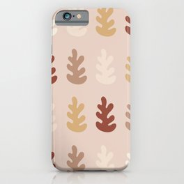 Matisse inspired forest in autumn iPhone Case