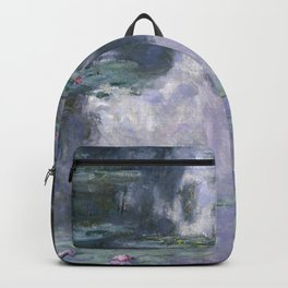 Water Lilies (Nymphéas) Backpack
