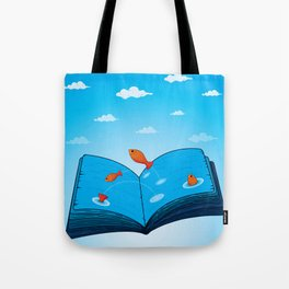 Sea of wisdom Tote Bag