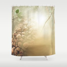 Whimsical Wolf Farts Shower Curtain