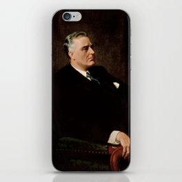 FDR Official Portrait iPhone Skin