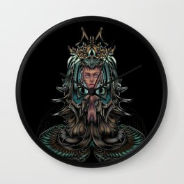 aquarian queen Wall Clock