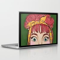 lucy Laptop & iPad Skins featuring Lucy by Hanna Tingström