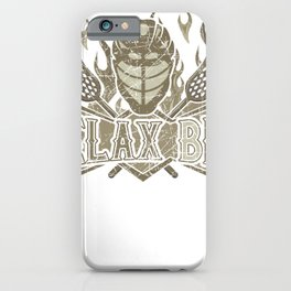 ReLAX Bro Lacrosse Lover Lacrosse Player iPhone Case