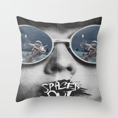 Spaced Out Dreams Throw Pillow