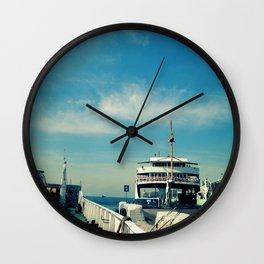 THE PIER Wall Clock
