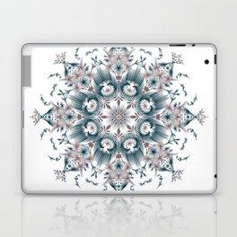 Kat Scratch • Digital Mandela • Dusty Purple & Blue Laptop & iPad Skin