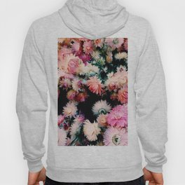 Flowers, pattern, glitch Hoody