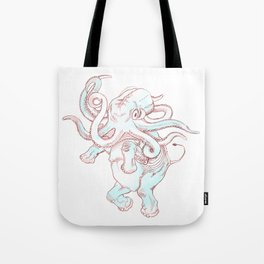 octophant Tote Bag