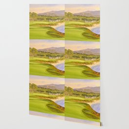 Pebble Beach Golf Course Holes 9 and 10 Wallpaper