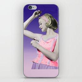 Retro Deodorant Girl iPhone Skin