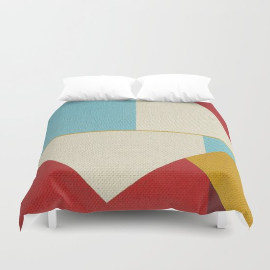 Geometric Thoughts 5 Duvet Cover