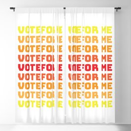 Vote for yourself Blackout Curtain