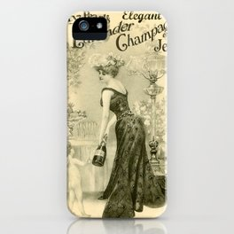 Kitty Pearl's Elegant Lavender Champagne Jelly iPhone Case