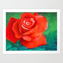 A Study in Complimentary Colors Art Print