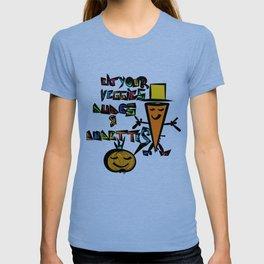 Eat your Veggies - Mr. Onion & Mr. Carrot T-shirt